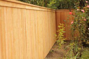 Chelan Cedar Fence