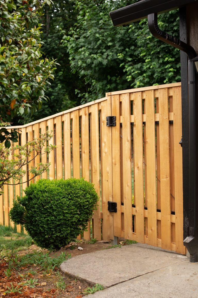 Lewis Cedar Semi-Privacy Fence