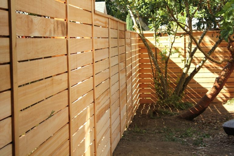 Pacific Horizontal Fence