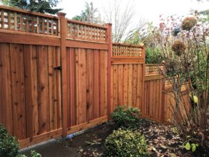 Trask Lattice Top Privacy Fence